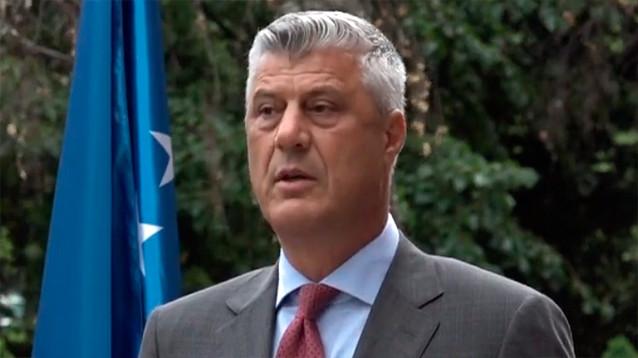 В Гааге предъявили обвинение в военных преступлениях президенту Косова