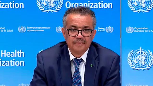 Глава ВОЗ заявил об ускорении распространения пандемии коронавируса