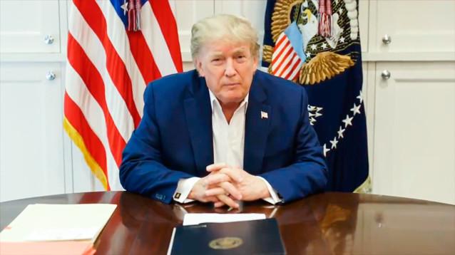 """Трамп обещает """"снова сделать Америку великой"""" после своего выздоровления"""