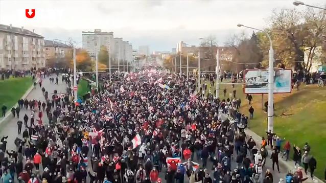 "В Минске разогнали ""Партизанский марш"" противников Лукашенко"
