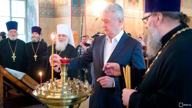 При Собянине РПЦ получила около 4 млрд рублей из бюджета Москвы