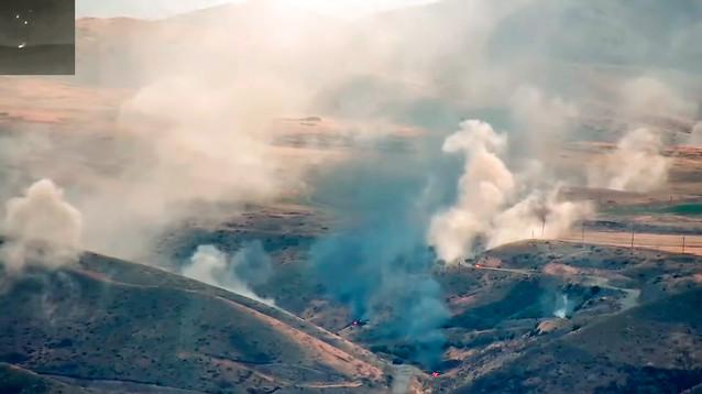 Бои в Нагорном Карабахе идут вдоль всей линии соприкосновения