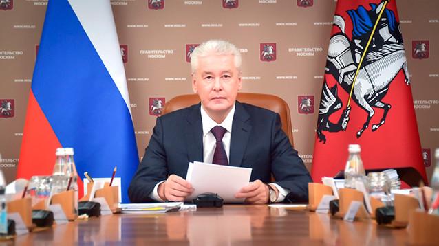 """Собянин спрогнозировал выход из пика пандемии """"через несколько месяцев"""""""