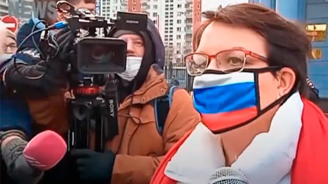 """Суд назначил условный срок депутату Галяминой, обвиненной по """"дадинской"""" статье о митингах"""